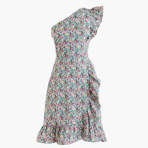 NWOT J Crew Liberty floral asymmetrical dress